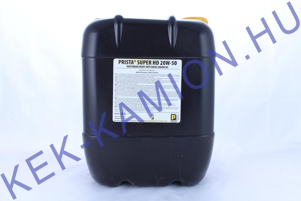 Motorolaj Dízel 20L 20W50 CF-4/CF/SF/SG PRISTA Super HD